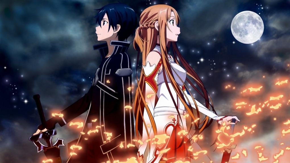 Sword Art Online - Asuna et Kirito 2