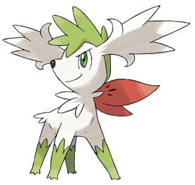 Pokemon - Shaymin en forme céleste