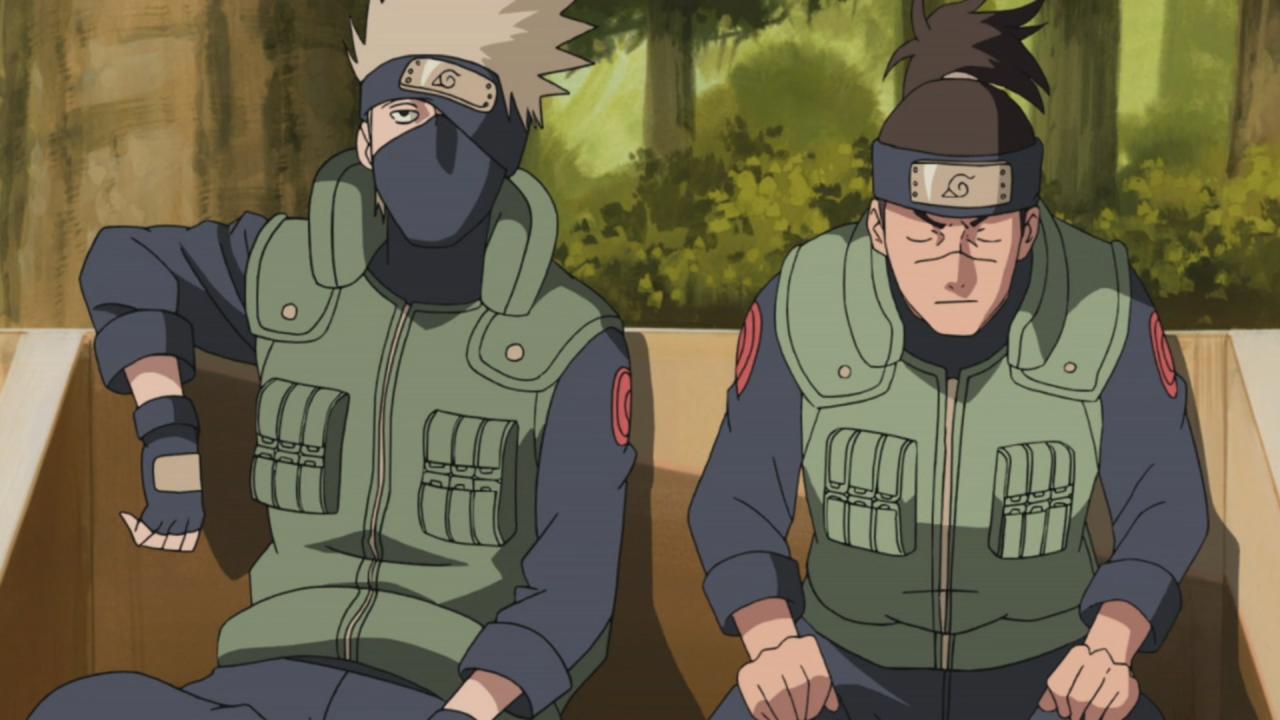 Naruto Shippuden - Kakashi et Iruka